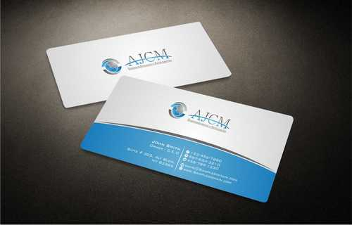 ...............AJCM- Empreendimentos e Participações.......... Business Cards and Stationery  Draft # 98 by Dawson