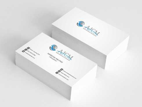 ...............AJCM- Empreendimentos e Participações.......... Business Cards and Stationery  Draft # 99 by Dawson