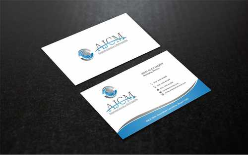 ...............AJCM- Empreendimentos e Participações.......... Business Cards and Stationery  Draft # 103 by Dawson