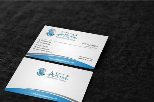 ...............AJCM- Empreendimentos e Participações.......... Business Cards and Stationery  Draft # 105 by Dawson
