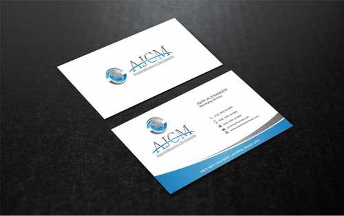 ...............AJCM- Empreendimentos e Participações.......... Business Cards and Stationery  Draft # 107 by Dawson