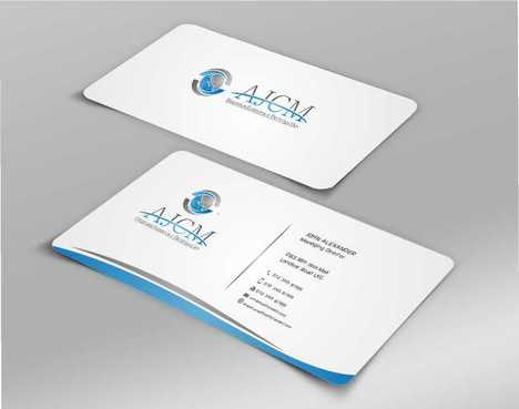 ...............AJCM- Empreendimentos e Participações.......... Business Cards and Stationery  Draft # 108 by Dawson