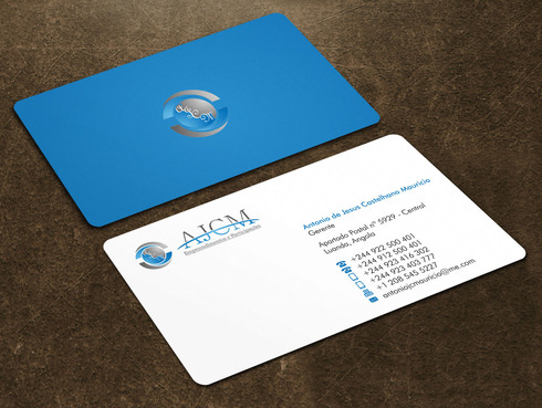 ...............AJCM- Empreendimentos e Participações.......... Business Cards and Stationery  Draft # 112 by Xpert