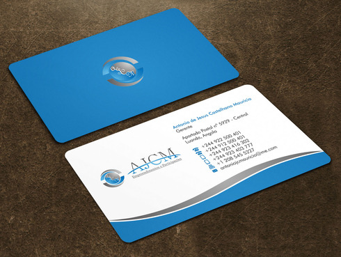 ...............AJCM- Empreendimentos e Participações.......... Business Cards and Stationery  Draft # 117 by Xpert