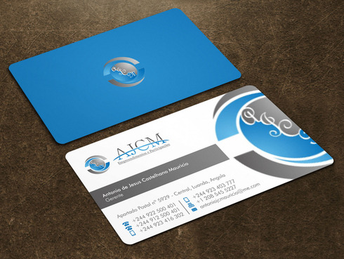 ...............AJCM- Empreendimentos e Participações.......... Business Cards and Stationery  Draft # 119 by Xpert