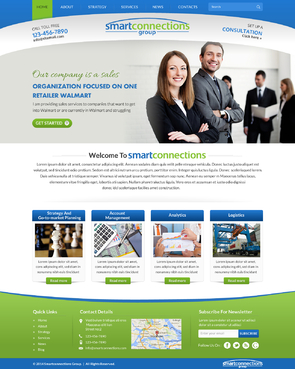 smart connections website Complete Web Design Solution Winning Design by itmech