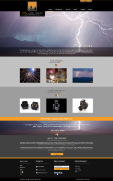 Update to our currnent site. Web Design  Draft # 75 by xclusivedesigns