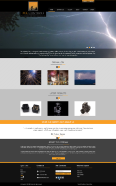 Update to our currnent site. Web Design  Draft # 76 by xclusivedesigns