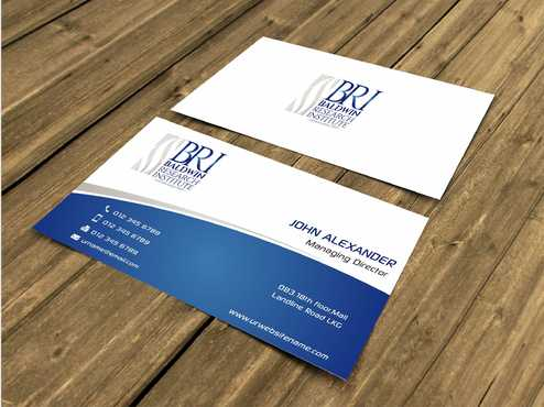 Business Card, Letterhead and Folder Business Cards and Stationery  Draft # 66 by Dawson