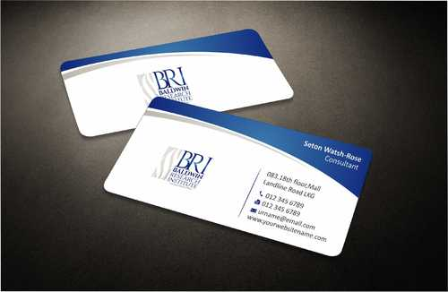 Business Card, Letterhead and Folder Business Cards and Stationery  Draft # 71 by Dawson