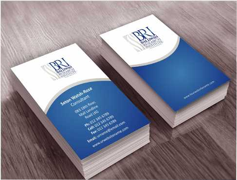 Business Card, Letterhead and Folder Business Cards and Stationery  Draft # 72 by Dawson