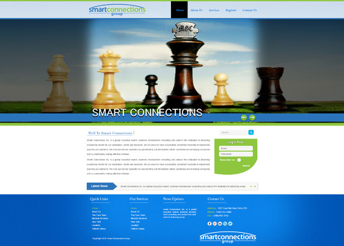 smart connections website Complete Web Design Solution  Draft # 27 by aminzah