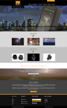 Update to our currnent site. Web Design  Draft # 77 by xclusivedesigns