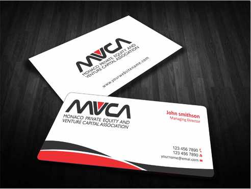 Monaco Private Equity and Venture Capital Association Business Cards and Stationery  Draft # 212 by Dawson