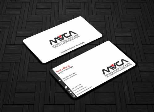 Monaco Private Equity and Venture Capital Association Business Cards and Stationery  Draft # 215 by Dawson