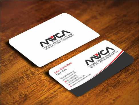Monaco Private Equity and Venture Capital Association Business Cards and Stationery  Draft # 217 by Dawson
