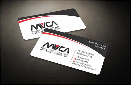 Monaco Private Equity and Venture Capital Association Business Cards and Stationery  Draft # 218 by Dawson