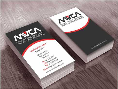 Monaco Private Equity and Venture Capital Association Business Cards and Stationery  Draft # 219 by Dawson