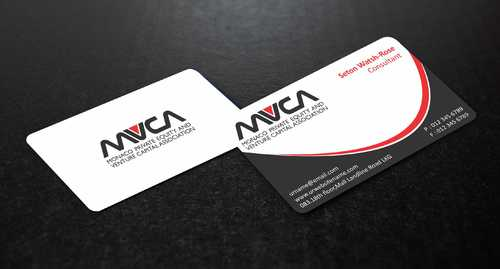 Monaco Private Equity and Venture Capital Association Business Cards and Stationery  Draft # 221 by Dawson