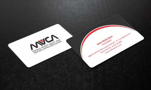 Monaco Private Equity and Venture Capital Association Business Cards and Stationery  Draft # 222 by Dawson