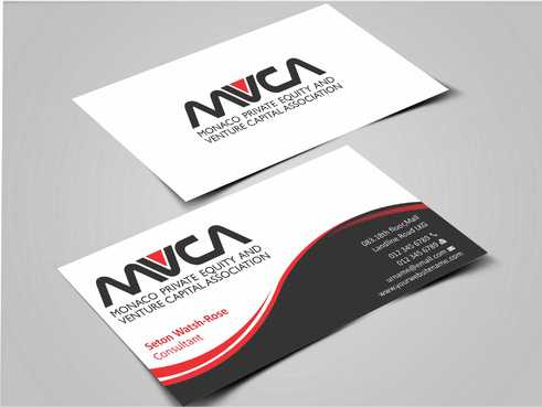 Monaco Private Equity and Venture Capital Association Business Cards and Stationery  Draft # 226 by Dawson