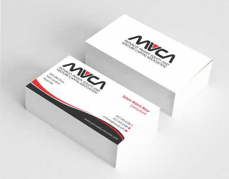 Monaco Private Equity and Venture Capital Association Business Cards and Stationery  Draft # 227 by Dawson