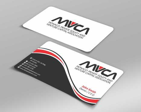 Monaco Private Equity and Venture Capital Association Business Cards and Stationery  Draft # 228 by Dawson