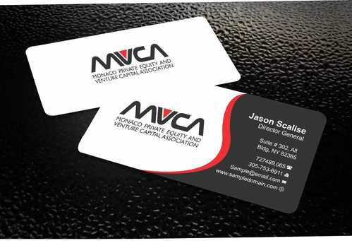 Monaco Private Equity and Venture Capital Association Business Cards and Stationery  Draft # 229 by Dawson