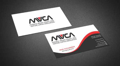Monaco Private Equity and Venture Capital Association Business Cards and Stationery  Draft # 230 by Dawson