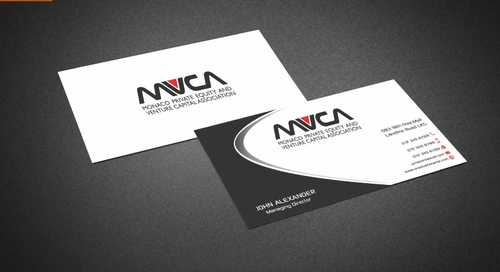Monaco Private Equity and Venture Capital Association Business Cards and Stationery  Draft # 231 by Dawson