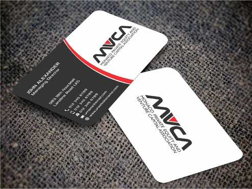 Monaco Private Equity and Venture Capital Association Business Cards and Stationery  Draft # 232 by Dawson