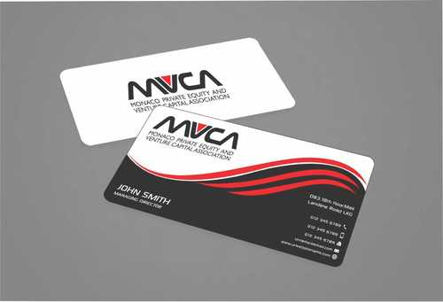 Monaco Private Equity and Venture Capital Association Business Cards and Stationery  Draft # 233 by Dawson
