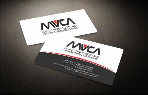 Monaco Private Equity and Venture Capital Association Business Cards and Stationery  Draft # 234 by Dawson