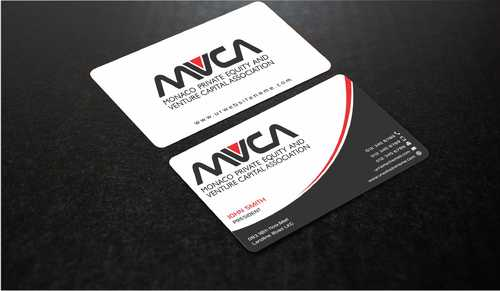 Monaco Private Equity and Venture Capital Association Business Cards and Stationery  Draft # 235 by Dawson