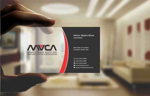 Monaco Private Equity and Venture Capital Association Business Cards and Stationery  Draft # 237 by Dawson