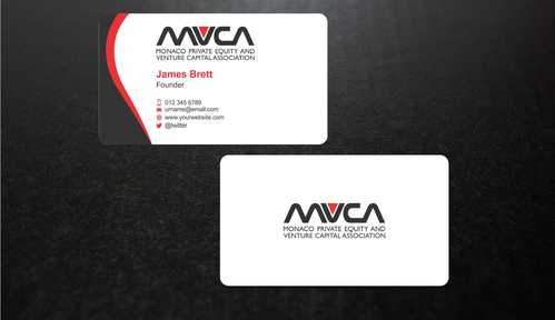Monaco Private Equity and Venture Capital Association Business Cards and Stationery  Draft # 240 by Dawson