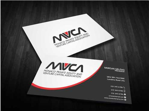 Monaco Private Equity and Venture Capital Association Business Cards and Stationery  Draft # 242 by Dawson