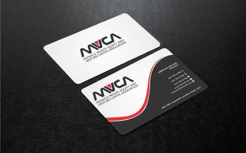 Monaco Private Equity and Venture Capital Association Business Cards and Stationery  Draft # 244 by Dawson