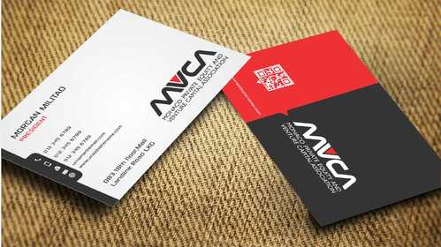 Monaco Private Equity and Venture Capital Association Business Cards and Stationery  Draft # 247 by Dawson