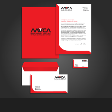 Monaco Private Equity and Venture Capital Association Business Cards and Stationery  Draft # 261 by glassfairy