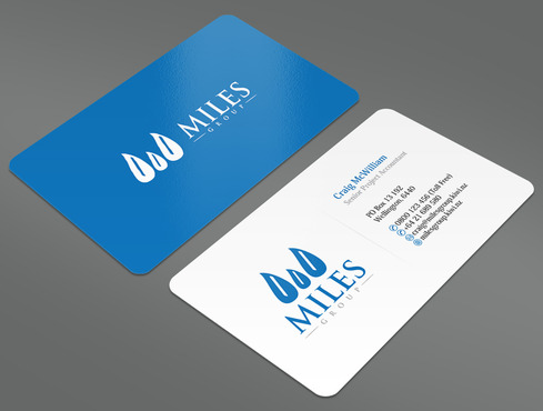 Miles Group Business Cards and Stationery  Draft # 1 by ArtworksKingdom