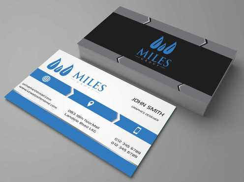Miles Group Business Cards and Stationery  Draft # 158 by Dawson