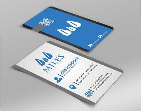 Miles Group Business Cards and Stationery  Draft # 173 by Dawson