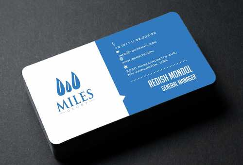 Miles Group Business Cards and Stationery  Draft # 197 by Dawson