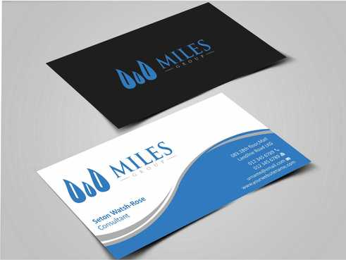 Miles Group Business Cards and Stationery  Draft # 231 by Dawson