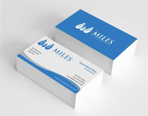 Miles Group Business Cards and Stationery  Draft # 232 by Dawson