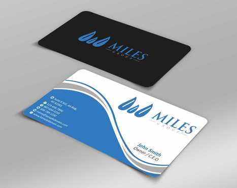 Miles Group Business Cards and Stationery  Draft # 233 by Dawson