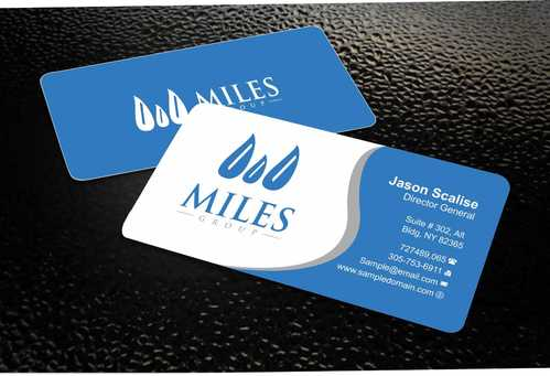 Miles Group Business Cards and Stationery  Draft # 234 by Dawson