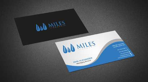 Miles Group Business Cards and Stationery  Draft # 235 by Dawson