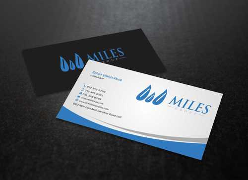 Miles Group Business Cards and Stationery  Draft # 241 by Dawson